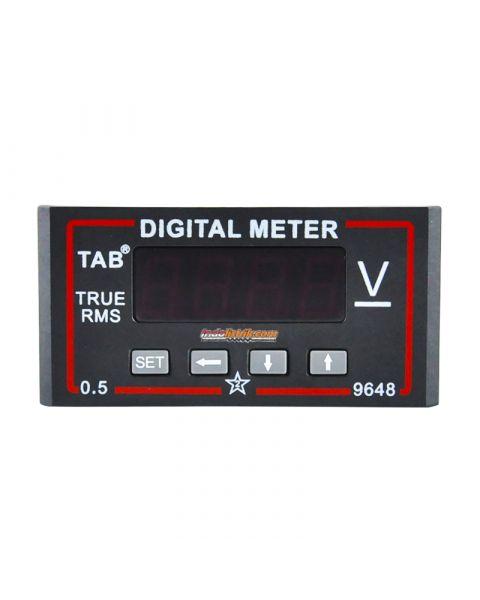 TAB Digital Voltmeter 96x48 600VDC