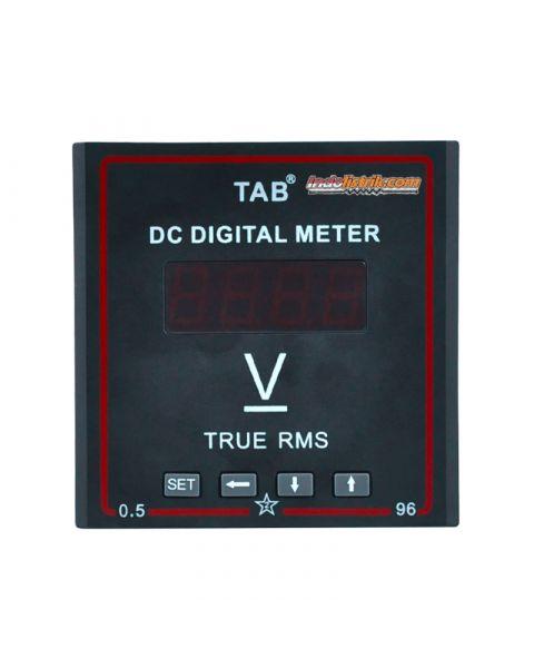 TAB Digital Voltmeter 96x96 600VDC