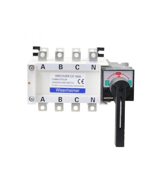 Wisenheimer Change Over Switch 4 pole 160 Ampere COS Ohm Saklar Manual