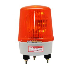 TAB Lampu Warning Light 6 inch 220VAC Kuning